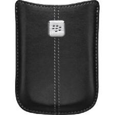RIM (OEM) HDW-19862-001 Black Leather Pocket For BlackBerry Curve 8520 Bold 9700