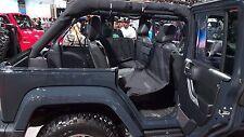 2007-17 Wrangler JEEP Dog Seat Cover Back Rear Protector Bridge petmyride.com