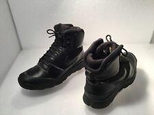 Nike ACG Men's Stasis Ankle Boots Sz 8M Black Leather #616192-004