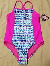 ~NWT Girls YMI Swimsuit Size 14 Pink $50:)!