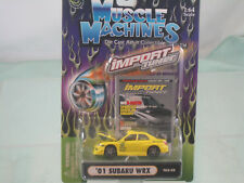 2001Subaru WRX 1:64   BY MUSCLE MACHINES Import Tuner