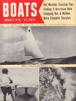 Boats February August 1956 Detroit, Chapelle Sharpies 051017nonDBE
