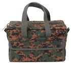 Military Mechanics Tool Bag Woodland Digital Camo Bag For Tools Rothco 91320