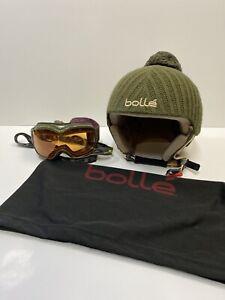 Bolle Pompon V43SB Ski/snowboarder Class B Helmet Size S & Oakley Goggles & Bag