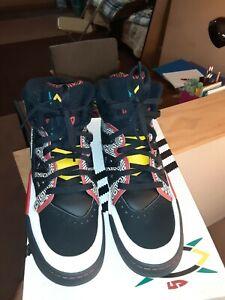 2013 Adidas Dikembe Mutombo #55 Crazy Retro OG Basketball Shoes Size 11 original