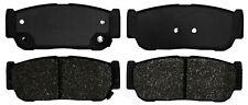 Disc Brake Pad Set-Semi Metallic Disc Brake Pad Rear ACDelco Pro Brakes 17D954M