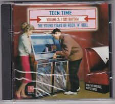 New CD Teen Time 2 V/A 1957-1964 Rare Hits Eric Hard To Find 45s On CD Series