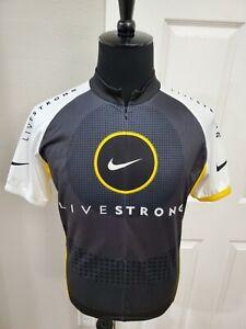 Nike Livestrong Bicycle Jersey Men Size Large