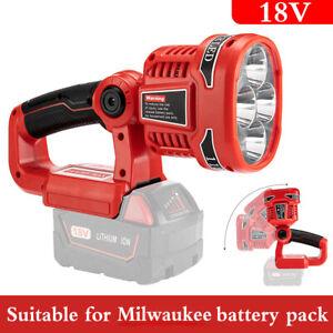 LED Work Light Torch For Milwaukee M18SLED-0 18v Cordless - Naked - Bare Unit UK