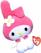 """TY My Melody 8"""" beanie Baby-Hello Kitty Friends-officiel neuf avec étiquette"""
