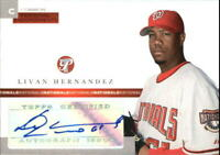 2005 (NATIONALS) Topps Pristine Personal Endorsements Common #LH Hernandez
