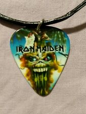 Iron Maiden The Evil That Men Do Guitar Pick Necklace - NEW