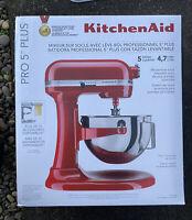 KitchenAid® Pro 5™ Plus 5 Quart Bowl-Lift Stand Mixer - RED New in sealed box 🚀