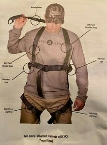 NEW Summit Treestand Adult Safety Harness, SU18226