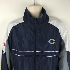 Chicago Bears Sports Illustrated NFL Team Apparel XL Football Jacket Lightweight
