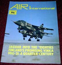 Air International 1979 December Valmet Vinka,Helldiver,Jaguar,Mig-21