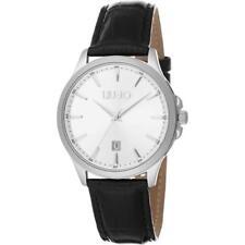 Reloj De Hombre LIU JO Luxury GROOVE TLJ1077  Piel Genuina Negro Clásico