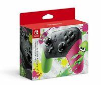 Original Nintendo Switch Pro  Splatoon 2 Edition Controller New