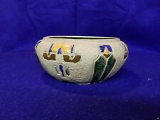 """Roseville Pottery Small Mostique 7"""" Jardiniere Bowl"""