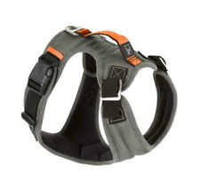 Gooby Pioneer Small Breed Dog Harness XL - Control Handle - Gray - Hiking