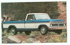 Post Card 1977 Ford F-100 Pickup Ranger XLT (unmailed)autoA#22*5