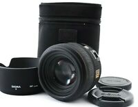 Mint Sigma AF 30mm f/1.4 HSM EX DC Lens For Canon w/Case, Hood From Japan