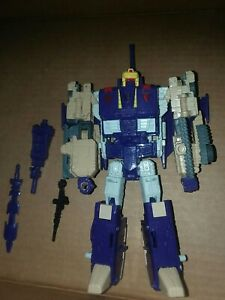 Hasbro Transformers Generation Titans Return Voyager Blitzwing & Hazard w/bonus