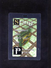 Sting 1994 - Ten Summoners' Tales World Tour - laminate pass promoter staff