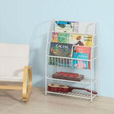 Sobuy Librería infantil para Niños con 2 estante Estantería Estándar Kmb06-w es