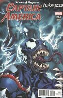Captain America Steve Rogers #13 Venomized Variant (2017) Marvel Comics