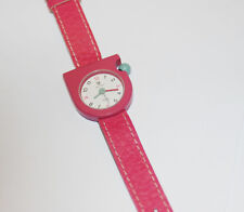 RARE ORIGINAL PINK LIP Mach 2000 Wristwatch Made in France Roger Tallon Design