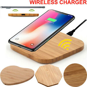 Fast Wireless Charging For iPhone 13 12 11 8 XR XS X SE Qi Charger Dock Pad Mat