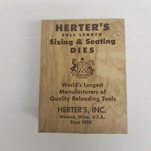 Herter's 30-06 Sizing & Seating Dies, Reloading Equipment