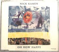 NICK KAMEN : OH HOW HAPPY  - [ CD MAXI REMIX ]