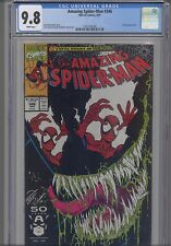 Amazing Spider-Man #346 CGC 9.8 1991 Venom Cover Marvel Comic: NEW CGC  Frame