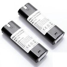 2 Pack 1500mAh 7.2V Battery for MAKITA 7000 4071D 3700DW 4073D 192532-2 192695-4