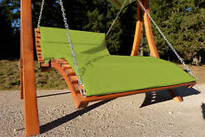 Design Hollywoodliege Gartenliege Hängeliege Doppelliege Modell ARUBA-LOUNG-GRÜN