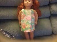 Handmade Flowers Dress For American Girl or similar 18in doll