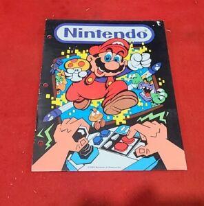 Vintage Nintendo Super Mario Bros. Folder NES Advantage 1988