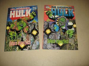 "HULK ""FUTURE IMPERFECT"" #1 & 2 (MARVEL COMICS 1992) 1ST MAESTRO VF/NM"