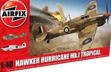 Airfix Hawker Hurricane Mk.I RAF 1941 Rhodesia Nuovo Strumento 1:48 Modello kit