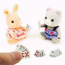 Cute Miniature Games Poker Mini Dollhouse Playing Cards Miniature 1:12 For Dolls