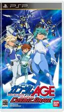 Used PSP Mobile Suit Gundam AGE: Cosmic Drive  Japan Import ((Free shipping))