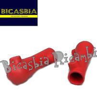 8618 - SCARPETTE ROSSE CAVALLETTO CENTRALE VESPA 180 200 RALLY - SS