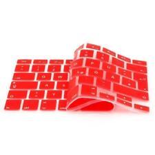 iProtect Silikon Tastaturschutz QWERTZ für Apple MacBook 12 Zoll Rot