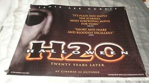 Halloween H20: 20 Years Later Original UK Quad Movie Cinema Poster 1998 Horror