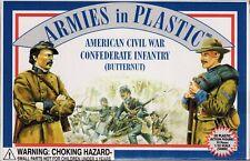 Armies in Plastic Civil War Confederate Butternut Infantry 1/32 Scale 54mm