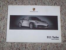 porsche 911 turbo owners manual ebay rh m ebay ca 2005 porsche carrera owners manual Porsche 911 Turbo