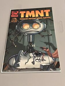 Ninja Turtles Vol 4 # 18 Signed and Sketched by Peter Laird!
