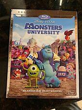 Disney - Pixar Monsters University - Blu-Ray + Dvd - Never Used